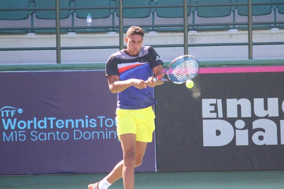 Olivares pasa a cuartos de final en M15 Santo Domingo