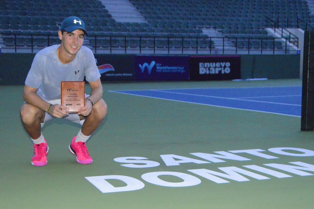 Bertran obtiene primer título profesional en final dominicana