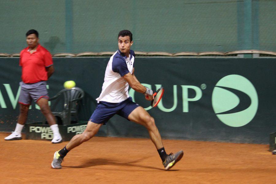 Roberto Cid empata serie de Copa Davis para Dominicana
