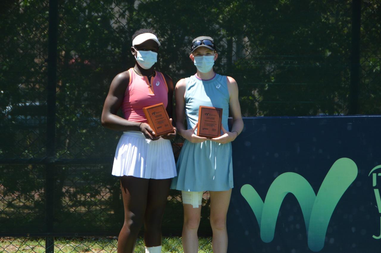Colby-Trochu y Cross-Mboko, campeones de dobles Copa Trinitaria