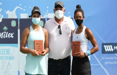 Williford y Zamburek terminan como finalistas en W25 Santo Domingo