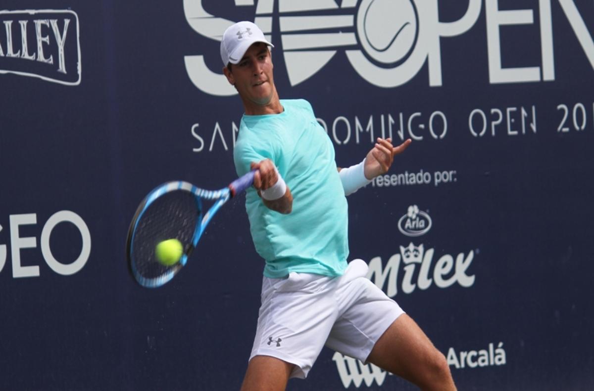 Bertran inicia ganando en dobles en M25 Santo Domingo